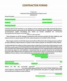 Contractor Quote Form Free 9 Sample Estimate Forms In Pdf Ms Word