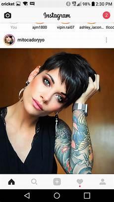 kurzhaarfrisuren für feines dunkles haar hair in 2019 feines haar kurzhaarschnitte