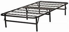 folding platform bed frame by comfort