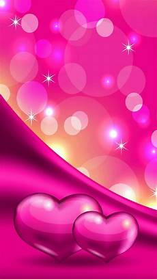 pink wallpapers for iphone sparkle pink hearts and bubbles wallpaper