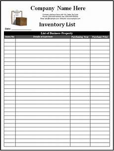 Inventory Form Excel 3 Inventory Templates Spreadsheet Excel Excel Xlts