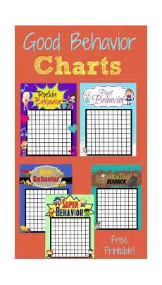 And Doug Behavior Chart Good Behavior Rewards Charts Behavior Sticker Chart