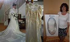 yellowed wedding dress cleaning