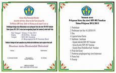 contoh undangan kegiatan sekolah contoh isi undangan