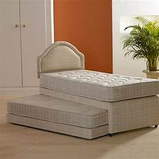 single 3 in 1 guest bed with 2 x quilted mattresses