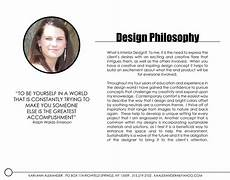 Design Philosophy Statement Interior Design Portfolio By Kari Alexander At