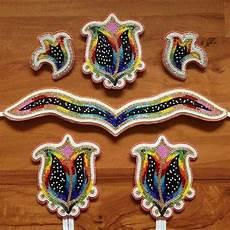 white fb beadwork designs powwow beadwork