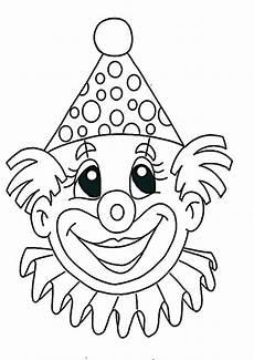 Malvorlagen Fasching Zum Ausdrucken Ausmalbilder Clown 2 Ausmalbilder Ausmalbilder Fasching