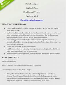 Resume Qualifications For Customer Service How To Craft A Perfect Customer Service Resume Using Examples