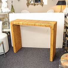 Bamboo Sofa Table 3d Image by Mid Century Bamboo Console Table On Antique Row West