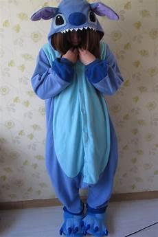 animal kigurumi pajamas costume pyjamas blue