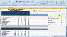 Forecast Income Statement Forecasting Financial Statements Part 1 Mp4 Youtube