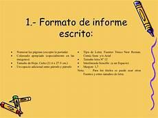 Formato De Informe Escrito Informe Escrito