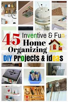 diy projects fun 45 inventive home organizing diy projects ideas