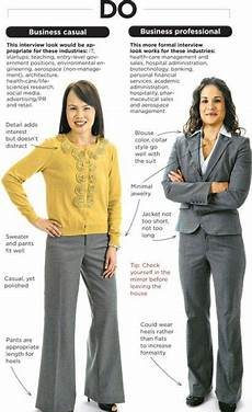 What Should A Woman Wear To An Interview What To Wear To An Interview For Women And For Men