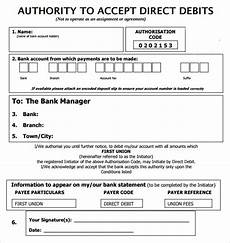 Auto Debit Authorization Form Direct Debit Form 10 Download Free Documents In Pdf Word