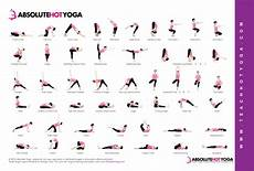Yoga Sequence Chart Absolute Yoga Pose Chart