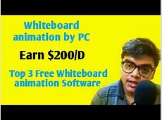 Earn $200/ Day By Whiteboard Animation // Top 3 Free