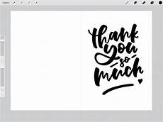 Free Thank You Templates Thank You Card Set Ipad Lettering