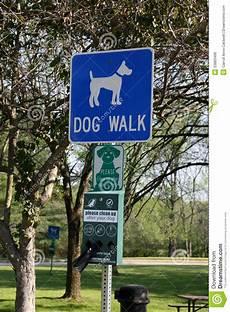 Dog Walking Sign Dog Walk Sign Stock Photo Image 53883468