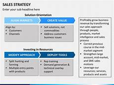 Sales Strategy Template Powerpoint Simple Business Plan