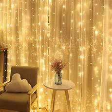 String Fairy Wedding Curtain Light 8 Mode Wedding Light String Remote Led Fairy Icicle Lights