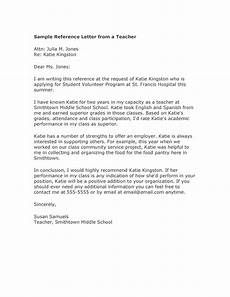 College Letter Of Recommendation From Teacher 50 Amazing Recommendation Letters For Student From Teacher
