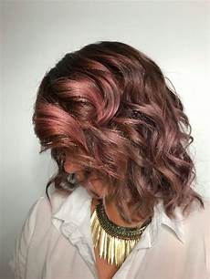 Light Brown Mauve Hair Chocolate Mauve Rainbow Hair Color Ideas For Brunettes