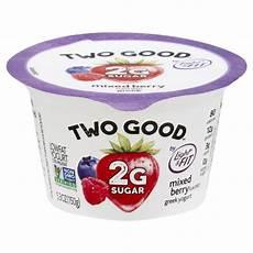 Light And Fit Yogurt Two Good Light Amp Fit Two Good Yogurt Greek Lowfat Mixed Berry