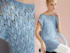 knitting summer 11 wing lace tunic vogue knitting summer 2014