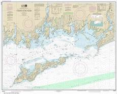 Fishers Island Sound Nautical Chart Noaa Chart Fishers Island Sound 13214 The Map Shop