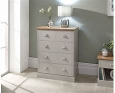 contemporary bedroom oak top grey kendal 2 3 chest of