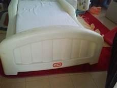 mybundletoys tikes white toddler bed with mattress