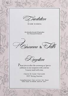 Wedding Invite Free Templates Free Wedding Invitation Flyer Template Download For