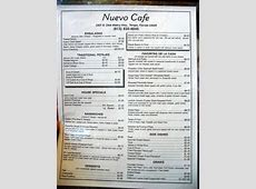 Nuevo Cafe, Tampa, Florida