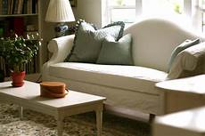 White Slip Covers For Furniture Sofa 3d Image by Custom Slipcovers By Shelley White Camel Back