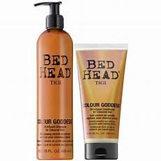 tigi bed colour goddess set shoo 400ml