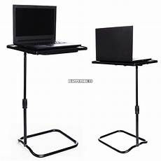 height adjustable laptop desk swivel bedside table stand