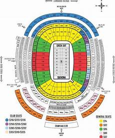 Green Bay Packers Seating Chart Lambeau Field Seating Chart Rows Awesome Home