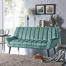 Blue Mid Century Modern Sofa 3d Image by Shop Handy Living Houston Mid Century Modern Turquoise