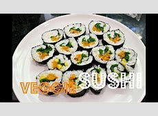 EASY SUSHI ROLLS (Vegan & Low Fat)   Cheap Lazy Vegan