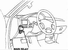 1990 Honda Accord Where Is The Fuel Pump Relay Located