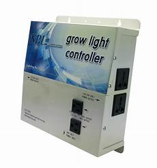 Grow Light Timer Controller Horticulture Grow Light Controller System 4 Plug Without