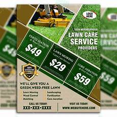 Lawn Mowing Business Name Ideas Lawn Care Flyer Design 7 The Lawn Market