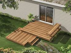 Two Level Deck Designs Kirksey Two Level Deck Plan 002d 3007 House Plans And More