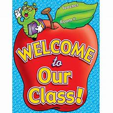 Welcome Chart For Classroom Chart Welcome To Our Class 17 X 22 Plastic Coated Tf