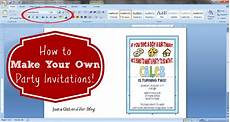 Create Free Invitations Online To Print How To Make Your Own Party Invitations Make Birthday