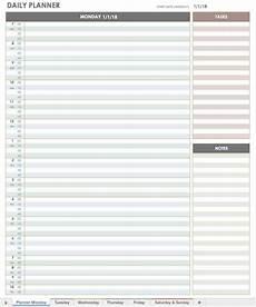 Daily Calendars Free Printable Daily Calendar Templates Smartsheet
