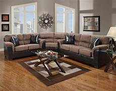 chocolate fabric brown vinyl modern sectional sofa