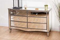 elysee 6 drawer chest birlea mirrored chest mirrored